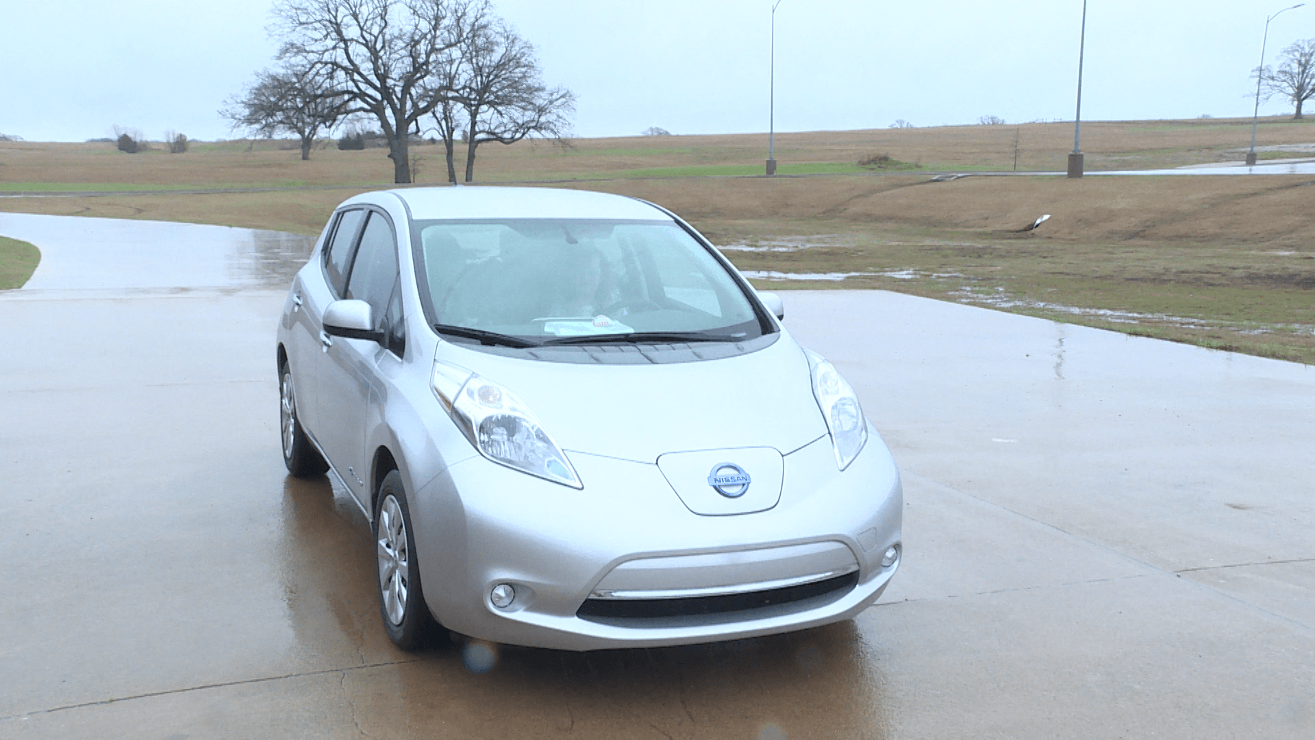 A hybrid pulls into the auto classroom at Southern Tech in Ardmore, OK